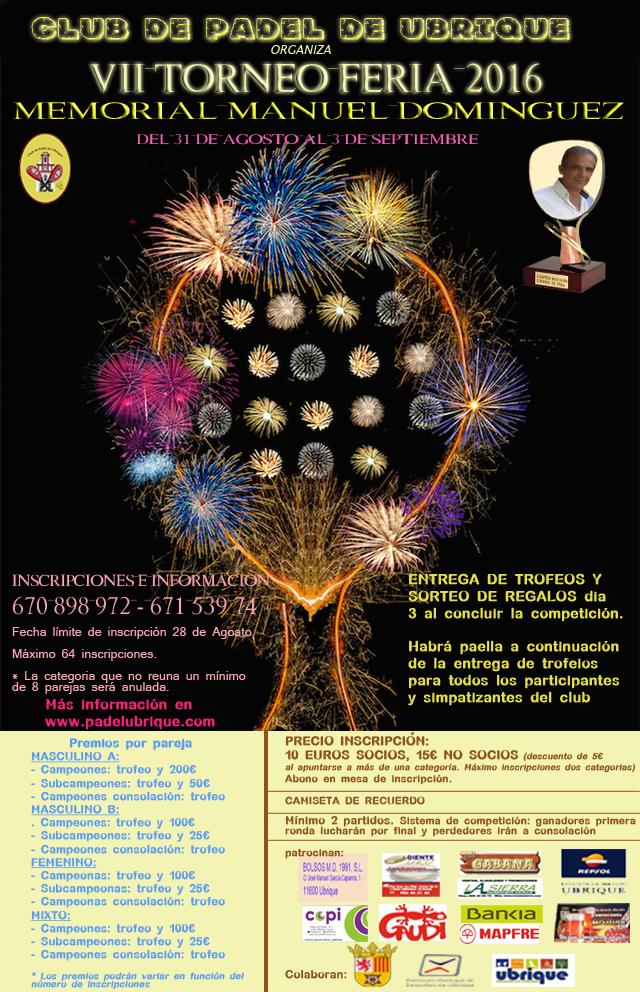 VII Torneo de Feria Memorial MANUEL DOMINGUEZ